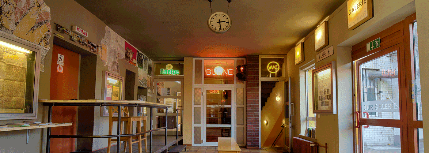 Bühne in der Brotfabrik - Foyer