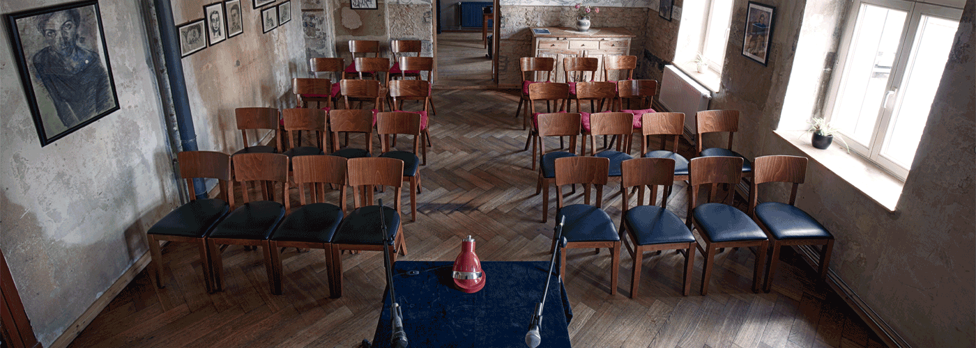 Neuer Salon in der Brotfabrik, Veranstaltung Literatur