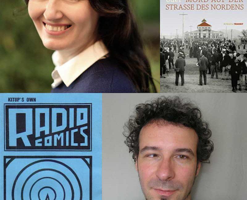 Mittwoch 25.10.2017, 20.00 Uhr, BrotfabrikBühne: PARATAXE. In welchen Sprachen schreibt Berlin? – Lesung mit Anila Wilms und Ilia Kitup