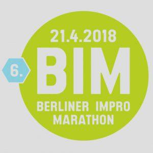 Sa. 21.04. | von 18:00 bis 4:00 Uhr 6. BERLINER IMPRO MARATHON das größte Ein-Tages-Impro-Festival Europas