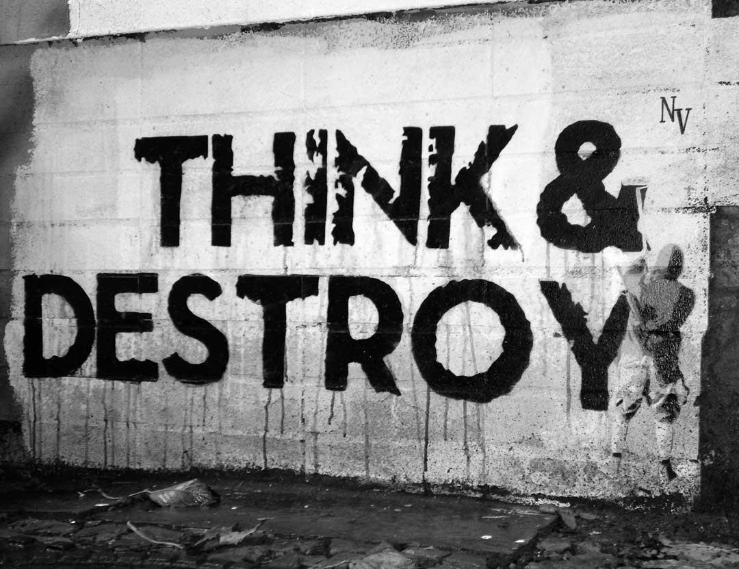 Negative Vibes – »THINK & DESTROY« | Brotfabrik Berlin