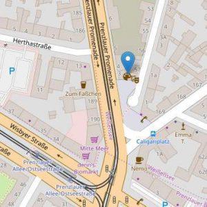 Kartenausschnitt Lage Brotfabrik auf OpenStreetMap-2