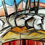 Johanna Ems, Lebenslinien III, Retrospektive Im Rahmen des Jahresprogrammes: IN RENOVATA: in beständiger Erneuerung 18. Januar - 24. Februar 2019