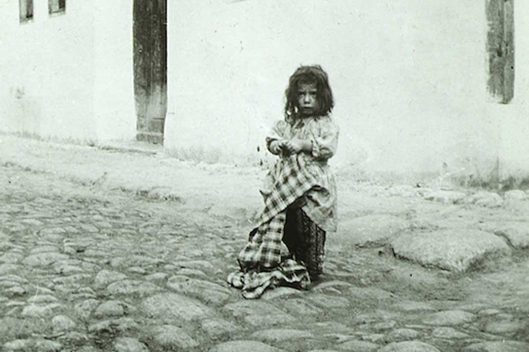 Die Austreibung des armenischen Volkes in die Wüste